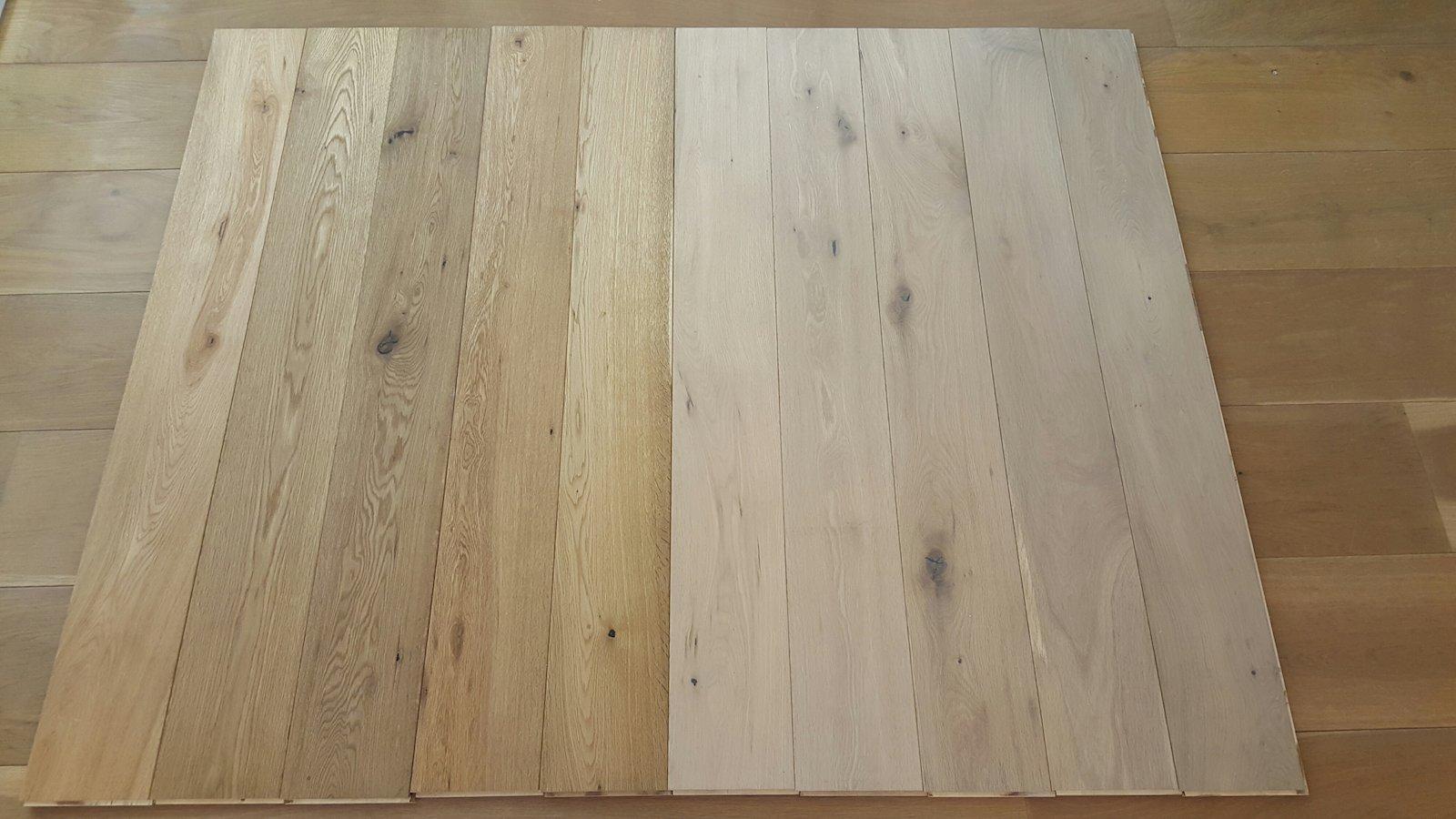 Eiken houten lamel vloer 18 cm nu voor u20ac 33 m² natuurlijk hout